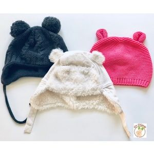 7dfd15ccd42 Kids  Fleece Baby Hats on Poshmark